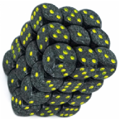 Grey & Black 'Urban Camo' Speckled 12mm D6 Dice Block